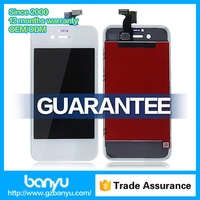 100% guarantee high quality cell phone digitizer assembly for iphone 4s lcd