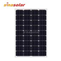 100 Watt 12V High Efficiency Monocrystalline Solar Panel
