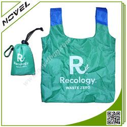 Fashion Polyester Fabric Foldable Tote Bag