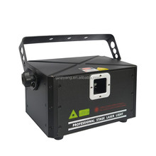 2W 25K ILDA Animation Laser Light DMX Control Stage Laser Projector DJ Disco RGB Laser Lighting