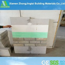New style Europe decoration lightweigh Best Quality Thin Body Low Carbon insulated walls panels for prefab villas price