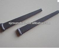 galvanized hard steel cut masonry nails with competitive price