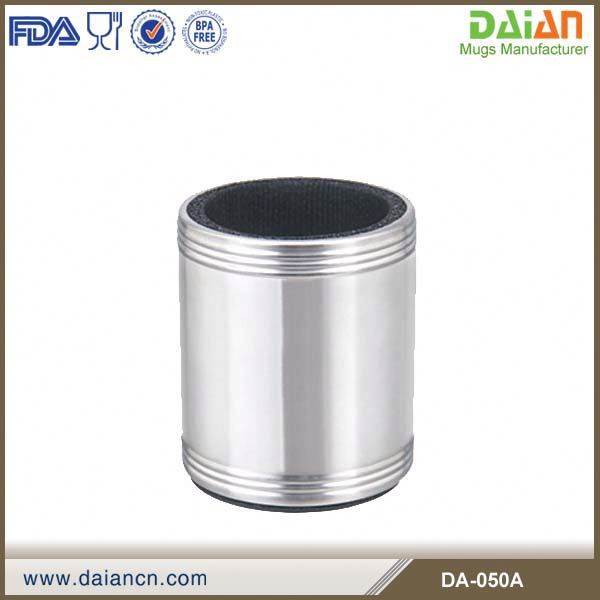 Stainless Steel Can Cooler ~ Can cooler stainless steel drink cup holder buy