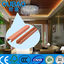 CE SGS FSC Crack resistant WPC water and sound proof ceiling panel