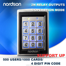 2015 Hot Sales Nordson Keypad for access with Door lock access control system (NT-120)