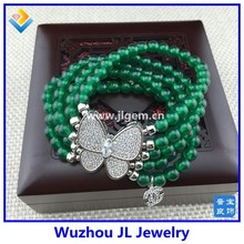 Fashion jewelry butterfly bracelet 925 silver butterfly fashion bracelet mother day gift ideas