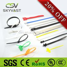100% PA66 high quality SGS Rohs metal detectable cable ties