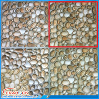 Random Pebble Design Standard Ceramic Floor Tile 30x30 Sizes