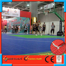 customized color price court floor basket ball on sale