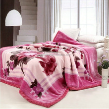 2 Ply 100% Polyester mink Blanket