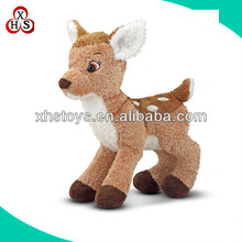 Hot sale animal toys cute standing little soft reindeer model