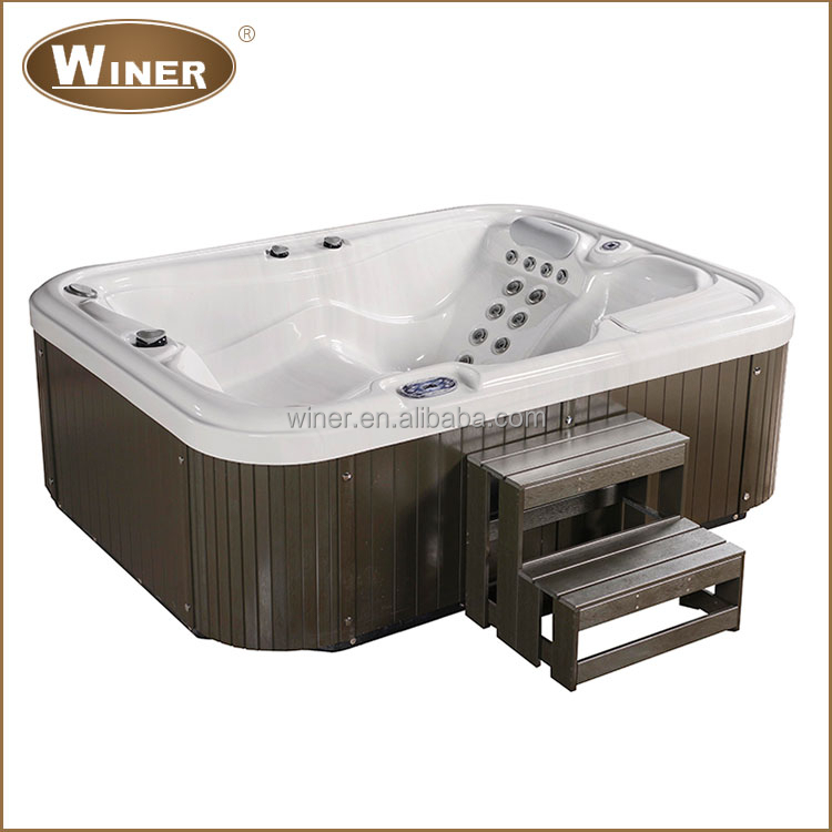best sale high quality massage mini indoor hot tub for 3 person buy