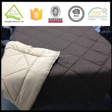 Ecofriendly reversible brushed polyester summer thin quilt