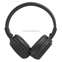 headband style retractable stereo bluetooth headset for young group and children super bass running sports headset