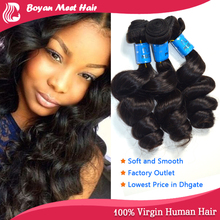 Best Price 100% Full Cuticle Manufacturer Hair Weave Gray