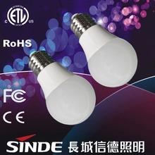 2015 new products 5w 12w led bulb light 110 lumen per watt