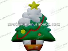 Hot sale inflatable christmas tree indoor decoration