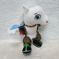 free sample good quality custom plush toy horse