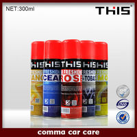 ISO9001 Car vent clips air freshener, air conditioner cleaner spray car