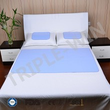 Single / Double Bed summer sleeping cooling gel pad for bedroom use
