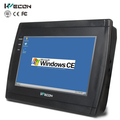 wecon 7 polegadas 4 fios industriais resistivo touch screen do painel pc
