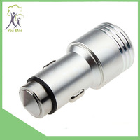 Safety Hammer metal wholesale dual usb car charger for iphone and Android phone