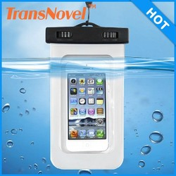 Universal mobile phone waterproof bag,swimming phone bag waterproof case for Iphone 6