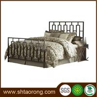 hotel room furniture carved wooden single bed TRBD-033