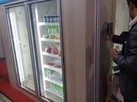 glass door beverage coolers/display cold room