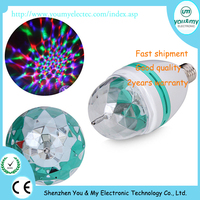 Full Colors 3w Disco Mini Laser Stage Lighting With B22/E27 Base Party Disco Lighting