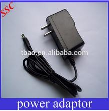 Portable 9V 500mA AC Power Adapter with US, EU , UK, AU Plugs