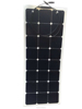 OEM SunPower monocrystalline flexible solar panel 80w with 90cm cable and MC4 connectors from Factory direct sale
