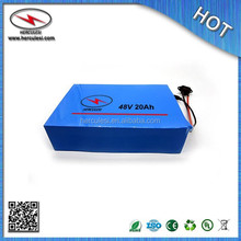 Cheap Price 48V 20Ah Electric Bike Li ion Battery used 18650 cell 13s 30A BMS PVC Cased + Charger For Scooter Ebike Bicycle