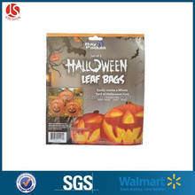 "happy halloween !!! halloween plastic bag 42""*72"" pumpkin bag"