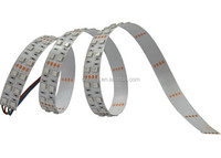 2015 high quality outdoor multicolor flat LED SMD 5630 double row flexible LED light strips ip65 in silica gel waterproof