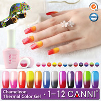50423H,Cheap 15ml CANNI uv gels peel off nails polish change color