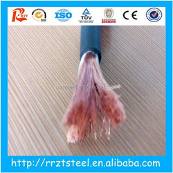 electric welding machine cable ! welding cables 1/0awg flexilbe rubber 4 0 welding cable