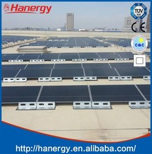 Hanergy 12kw solar cell panel for solar power system on flat roof
