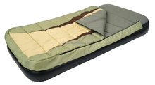 Camping Sleeping Bag Bed, Inflatable Air Bed with Sleeping Bag, 2-in-1 Camping Sleeping