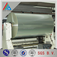thick clear plastic roll packaging material polyester film