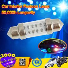 Car Dome 6 LED Bulb Light Interior Festoon Lamp