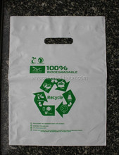 corn starch shopping bags ,compostable and biodegradable shopping bags T shirt vest die cut bags