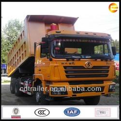 2015 Shacman off road 6x4 diesel tipper dumper truck tip lorry
