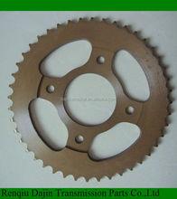 Dajin 1023 motor cycle engine/motorcycle parts chain sprocket/suzuki ax100 parts