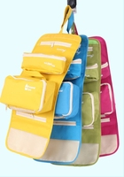 New Trendy Roll up foldable travel Hanging cosmetic bag for women & men