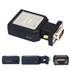 mini VGA to HDMI Cable Video Audio PC to HDMI Converter Adapter+Power Supply