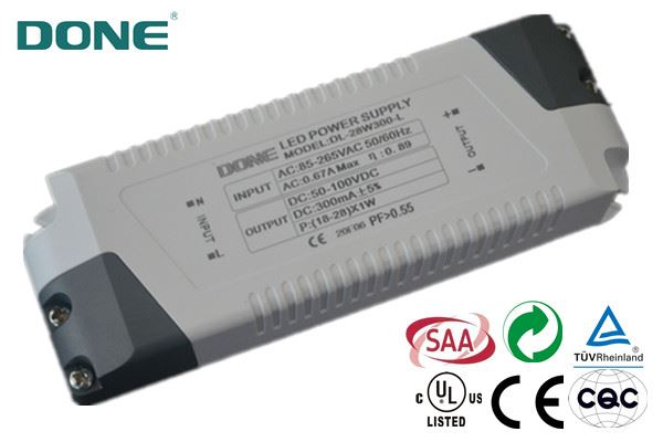 70w led driver with CE & RoHS high power factor >0.95 3 years warranty for LED light