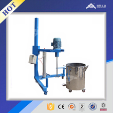 Small scale production high speed dissolver for solvent based paint