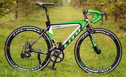 new Hard Tail all Alloy Goat handle road bike
