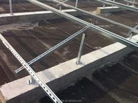 Flat Roof Solar PV Mount Bracket System
